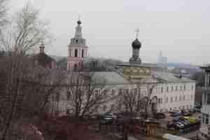 Воробьевы горы. Андреевский монастырь