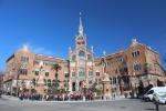 Барселона. Госпиталь Сант-Пау (Hospital de Sant Pau)