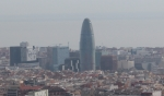 Барселона. Башня Агбар (Torre Agbar)