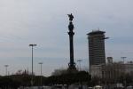 Барселона. Приморский район. Памятник Кристофору Колумбу