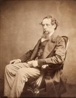 Чарльз Диккенс, портрет, 1860 г.