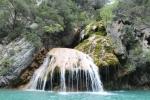 Водопад в каньоне реки Вердон