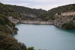 Озеро Сент-Круа (lac de Sainte-Croix). Плотина реки Вердон