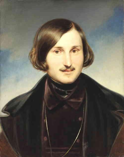 Портрет Гоголя Н.В., художник Фёдор Моллер