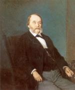 Крамской И.Н. Портрет И.А.Гончарова. 1874 г.