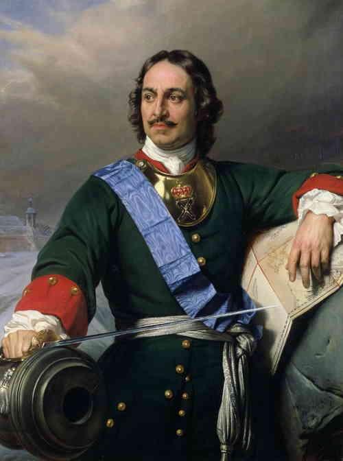 Петр I, Поль Деларош, 1838