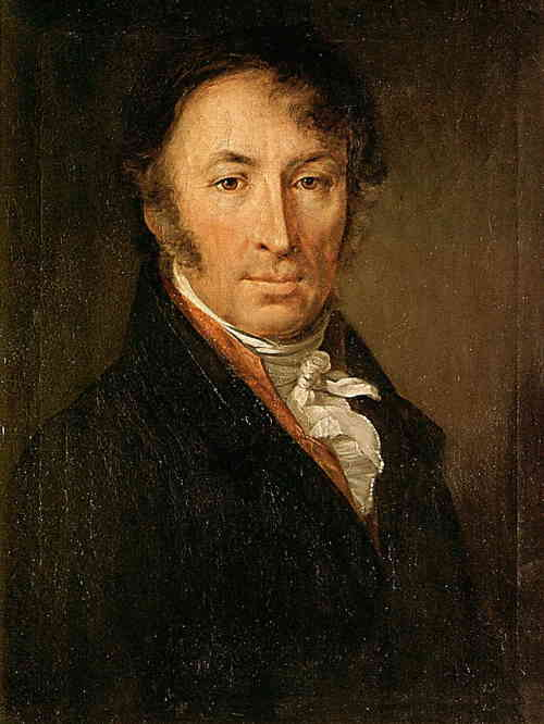Портрет Н. М. Карамзина (художник Тропинин, 1818, ГТГ)