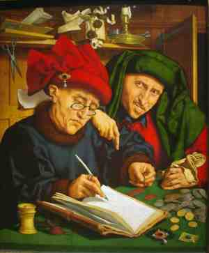 Сборщики податей. Квентин Массейс (1501 г.)
