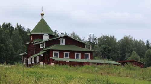 Пушкинские горы. Храм святого блаженного Тимофея