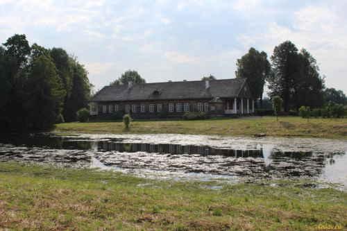 Музей-усадьба «Тригорское». Главный дом