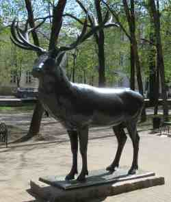 Скульптура оленя (Смоленск)