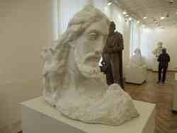 Сын человеческий, 1933 г., мрамор. Музей скульптуры С.Т. Коненкова (Смоленск)