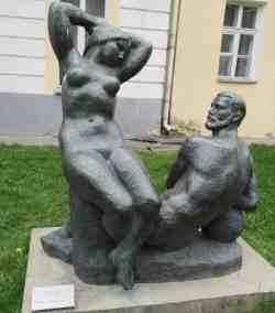 Ангара и Енисей. 1960-е г. Стамов В.Г. Музей скульптуры С.Т. Коненкова (Смоленск)