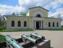 Здание музея. Бородинское поле
