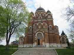 Спасо-Бородинский женский монастырь. Бородинское поле
