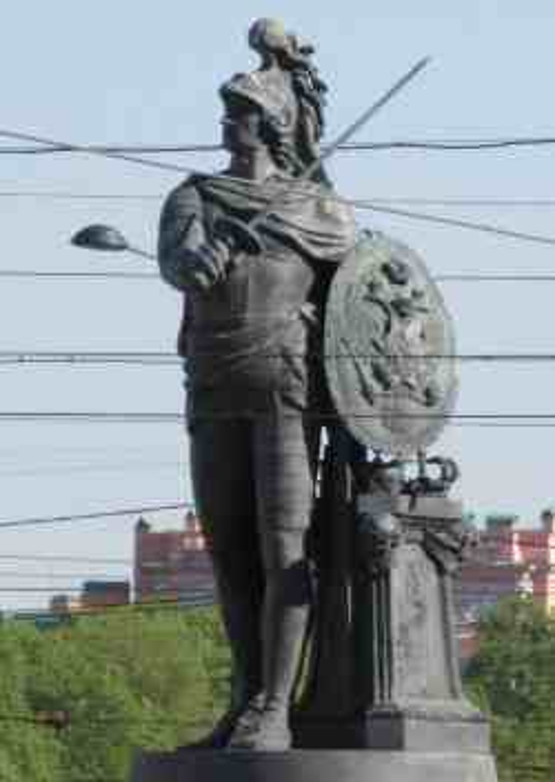 Памятник Александру Суворову у Марсова поля (Санкт-Петербург)