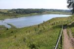 Изборск. Городищенское озеро