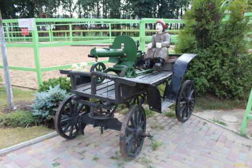 Национальный конный парк «Русь». Анка путеметчица
