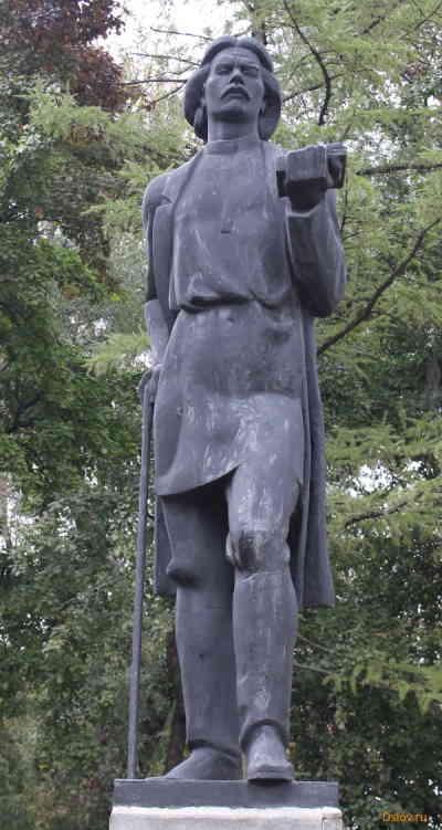 Памятник Максиму Горькому