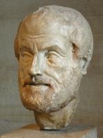 Скульптура головы Аристотеля — копия работы Лисиппа, Лувр