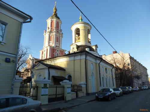 Церковь Архангела Гавриила на Чистых прудах и Церковь Феодора Стратилата