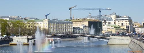Москва. Лужков мост