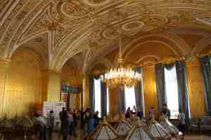 Санкт-Петербург. Зимний дворец. Золотая гостиная