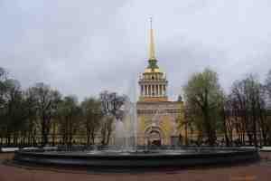 Санкт-Петербург. Александровский сад. Фонтан