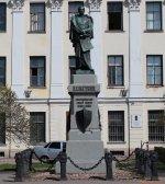 Кронштадт. Памятник П. К. Пахтусову