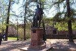 Кронштадт. Обводной канал. Памятник Ф.Ф. Беллинсгаузену