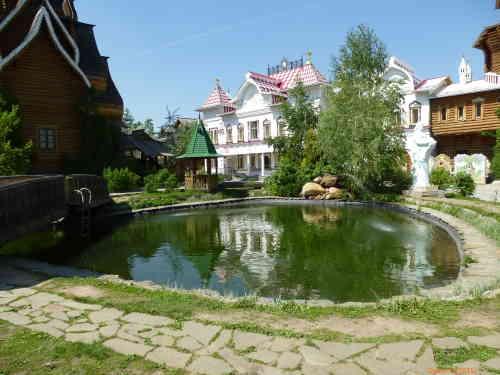 Кремль в Измайлово. Пруд