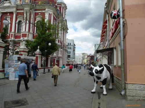 Москва. Климентовский переулок