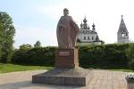 Юрьев-Польский. Памятник Юрию Долгорукову