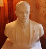 Бюст Голицына Бориса Александровича, музей села Сима