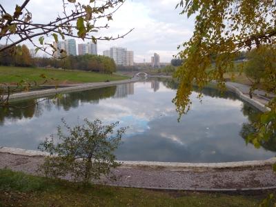 Москва. Парк «Подходы к Олимпийской деревне-80»