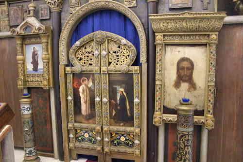 Абрамцево. Церковь Спаса нерукотворного. Иконостас