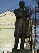 г. Клин, Памятник П.И. Чайковскому