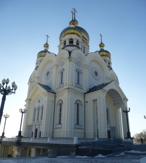 Хабаровск. Спасо-Преображенский собор (Хабаровск)