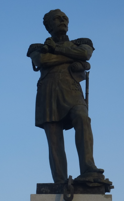 Хабаровск. Памятник Муравьёву-Амурскому