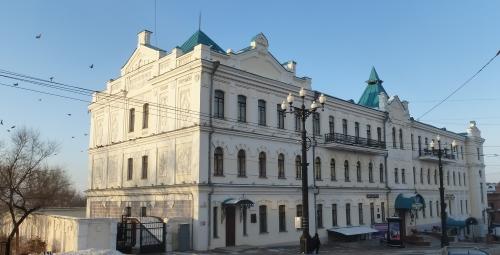 Хабаровск. Хабаровская краевая филармония