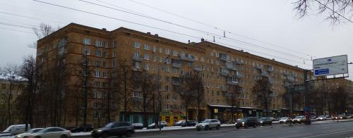 Москва, Ленинский проспект дом 43
