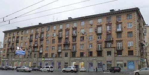 Москва, Ленинский проспект дом 21