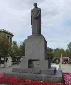Памятник Тимирязеву. Тверской бульвар (Москва)