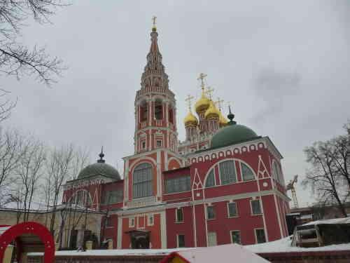 Москва. 2-й Кадашёвский переулок