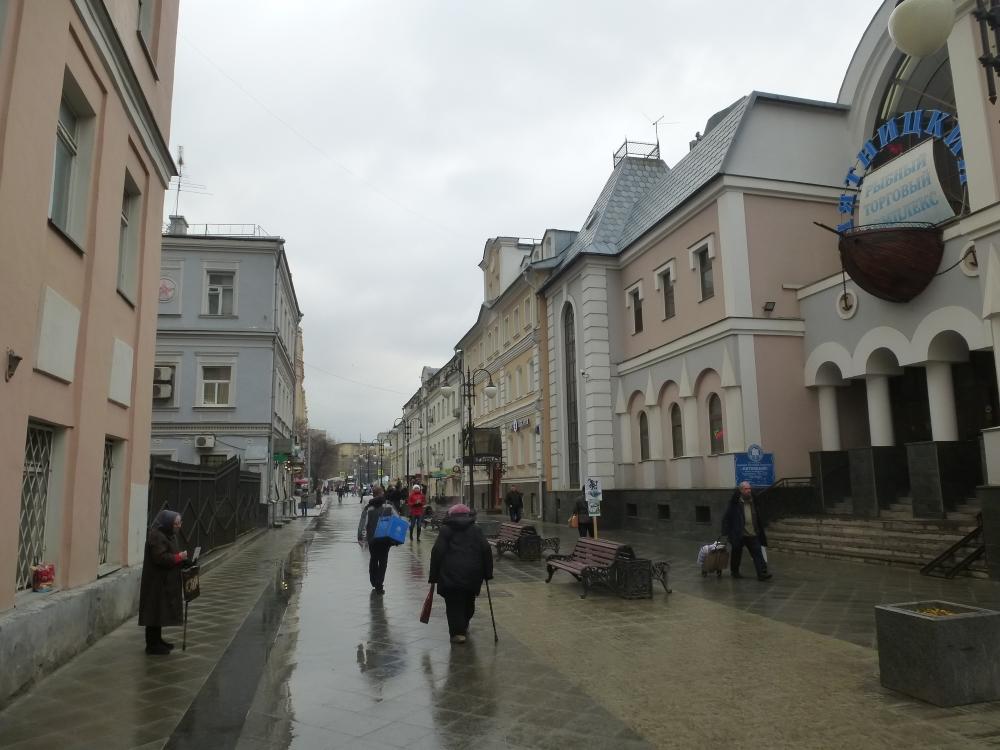 Москва. Пятницкий переулок