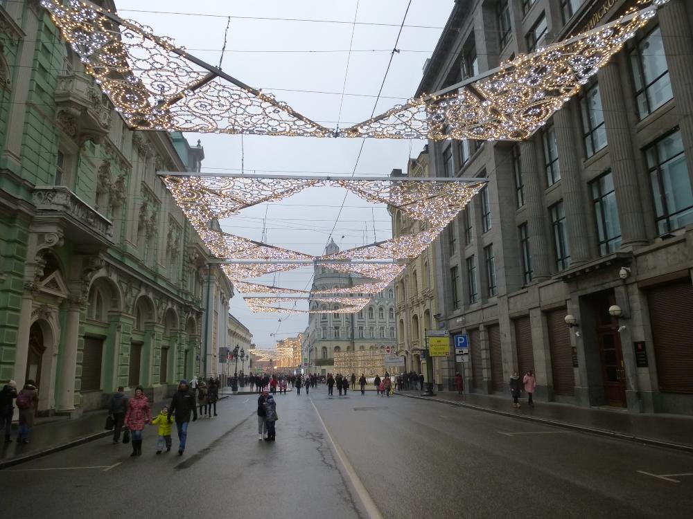 Москва. Улица Ильинка