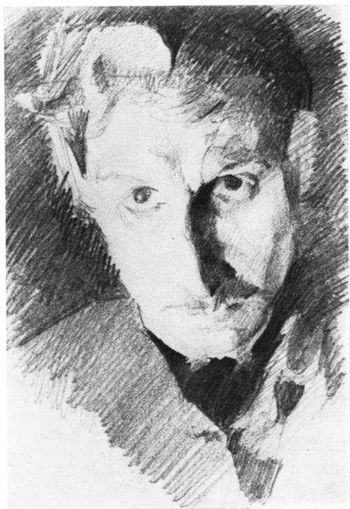 Автопортрет Врубель Михаил Александрович (1885)