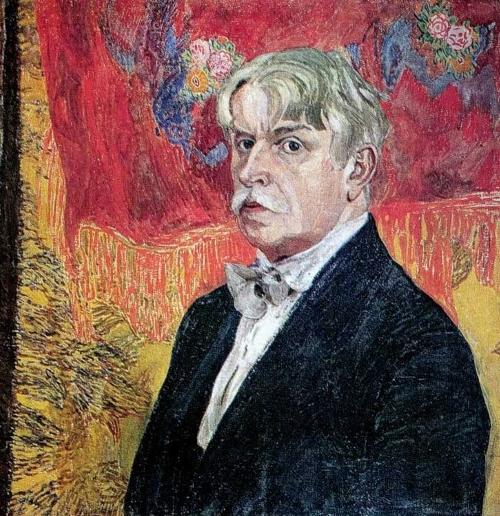 Автопортрет Головин, Александр Яковлевич (1919)