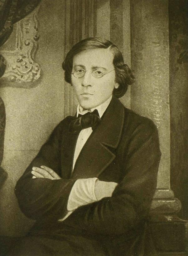Н. Г. Чернышевский. Фотография В. Я. Лауфферта. 1859 год.