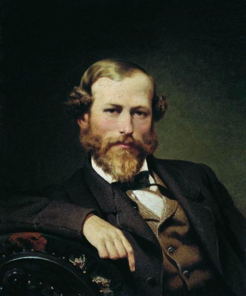 Портрет художника К. Д. Флавицкого